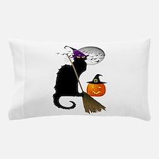 Le Chat Noir - Halloween Witch Pillow Case