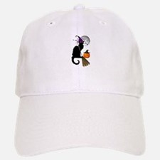 Le Chat Noir - Halloween Witch Baseball Baseball Cap