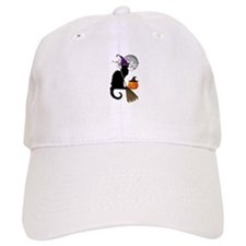 Le Chat Noir - Halloween Witch Baseball Cap