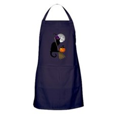 Le Chat Noir - Halloween Witch Apron (dark)