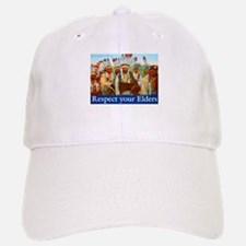 RESPECT YOUR ELDERS Baseball Baseball Cap