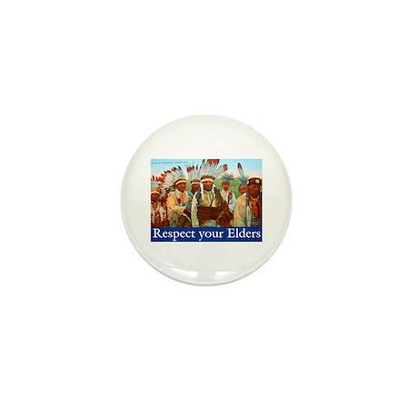 RESPECT YOUR ELDERS Mini Button (10 pack)