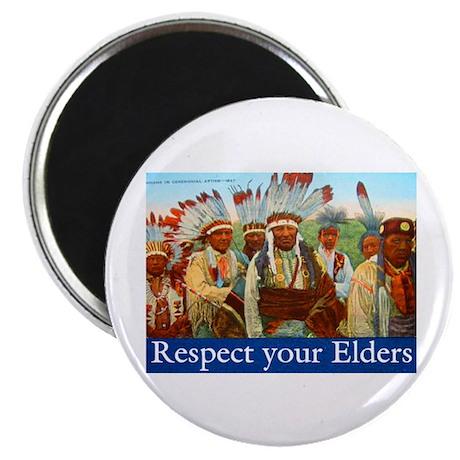 "RESPECT YOUR ELDERS 2.25"" Magnet (10 pack)"