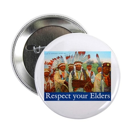 "RESPECT YOUR ELDERS 2.25"" Button (10 pack)"