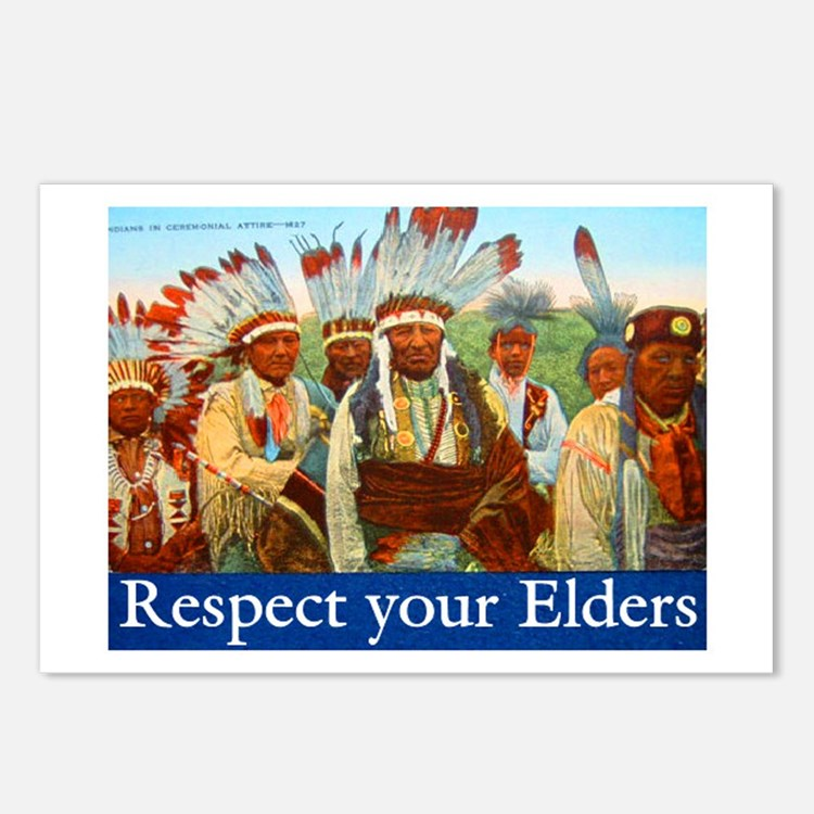 RESPECT YOUR ELDERS Postcards (Package of 8)