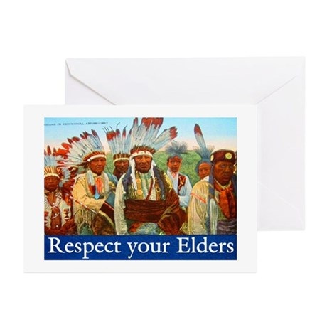 RESPECT YOUR ELDERS Greeting Cards (Pk of 10)