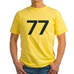 Magnificent 77 Yellow T-Shirt