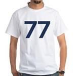 Magnificent 77 White T-Shirt