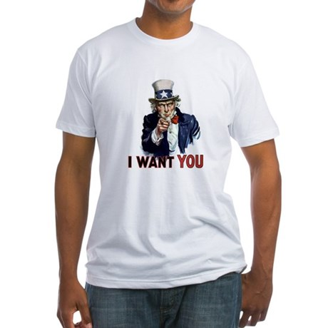 Uncle Sam Wants you Fitted T-Shirt