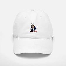 Uncle Sam Wants you Baseball Baseball Cap