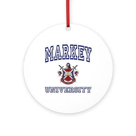 MARKEY University Ornament (Round)