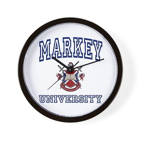 MARKEY University Wall Clock