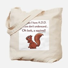ADD Squirrel Design Tote Bag