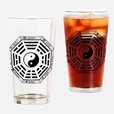 Cute Taoism Drinking Glass