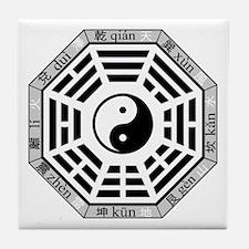 Cute Tao Tile Coaster