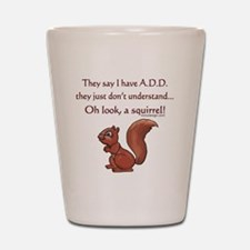 ADD Squirrel Design Shot Glass