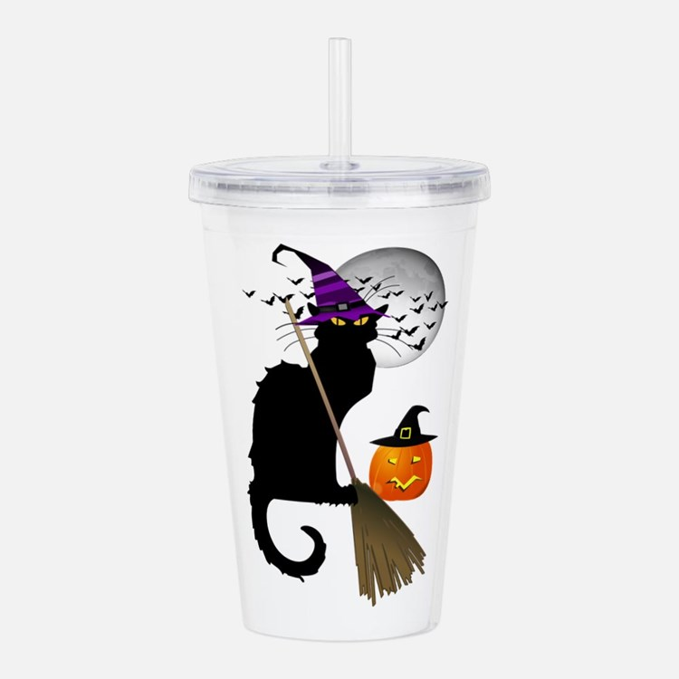 Le Chat Noir - Hallowe Acrylic Double-wall Tumbler