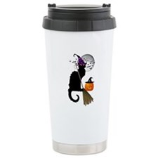 Le Chat Noir - Hallowee Travel Coffee Mug