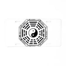 Unique Ching Aluminum License Plate