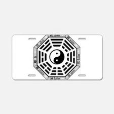 Unique Taoism Aluminum License Plate