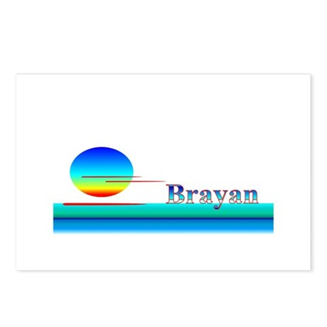 Brayan Postcards (Package of 8)