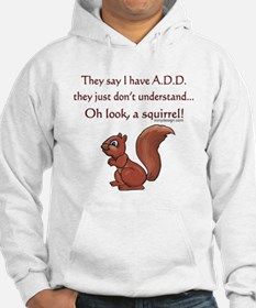 ADD Squirrel Design Hoodie