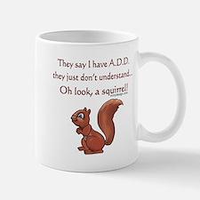 ADD Squirrel Design Mugs