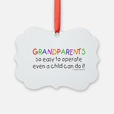 Grandparents Picture Ornament
