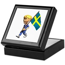 Sweden Boy Keepsake Box