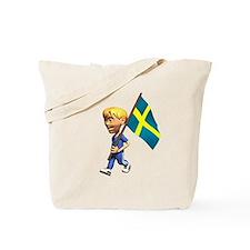 Sweden Boy Tote Bag