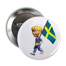 Sweden Boy Button