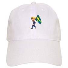 Sweden Boy Baseball Cap