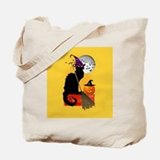 Le Chat Noir - Halloween Witch Tote Bag