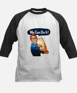 We Can Do It! Kids Baseball Jersey