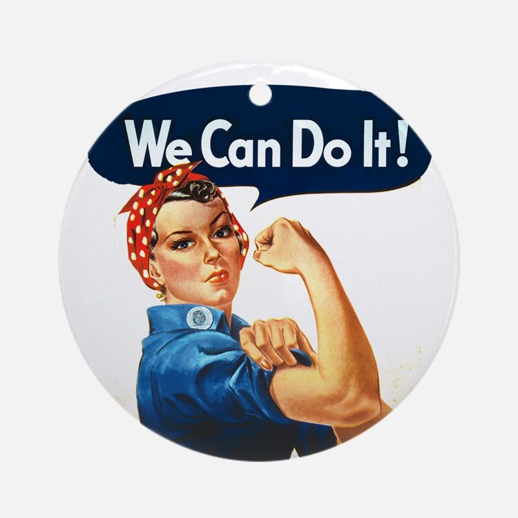 We Can Do It! Ornament (Round)