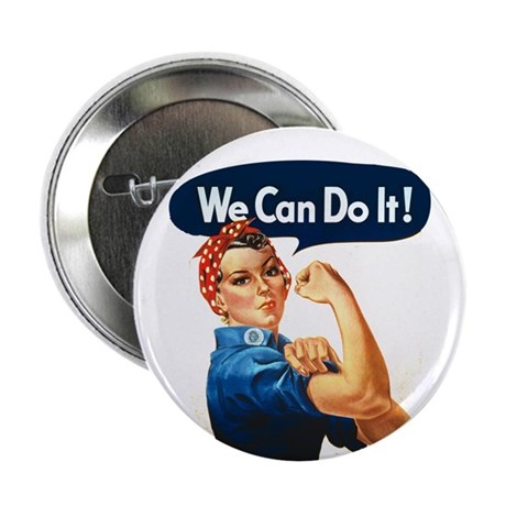 We Can Do It! Button