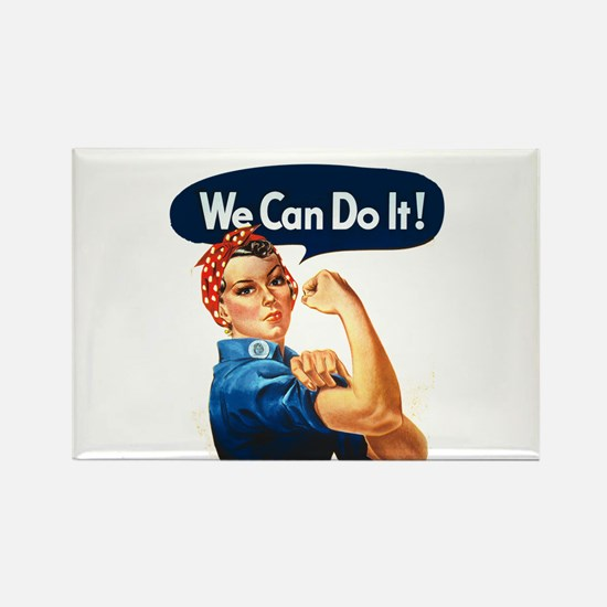We Can Do It! Rectangle Magnet