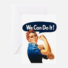 We Can Do It! Greeting Cards (Pk of 10)