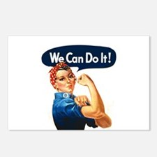 We Can Do It! Postcards (Package of 8)