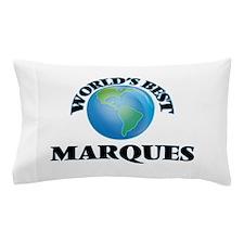 World's Best Marques Pillow Case