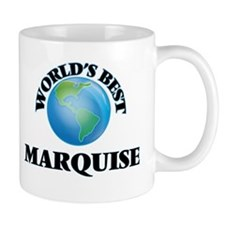 World's Best Marquise Mugs