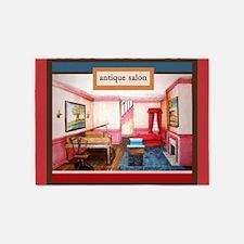 Federal style salon rug 5'x7'Area Rug