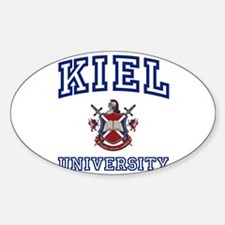 KIEL University Oval Decal