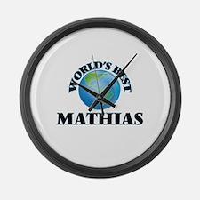 World's Best Mathias Large Wall Clock