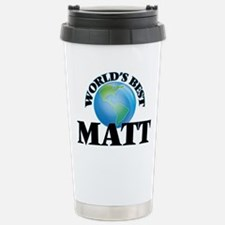 World's Best Matt Travel Mug