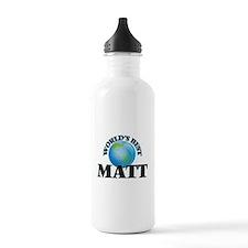 World's Best Matt Water Bottle