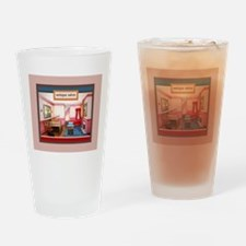 Federal style salon King Drinking Glass