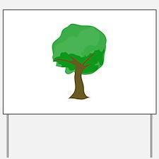 Tree Yard Sign