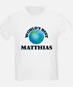 World's Best Matthias T-Shirt