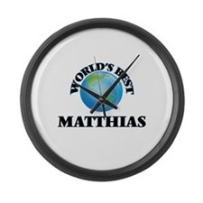 World's Best Matthias Large Wall Clock